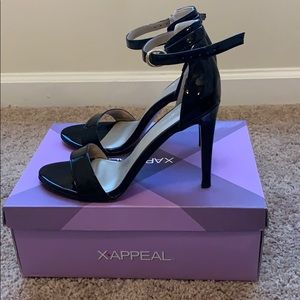 XAppeal Black Stilettos